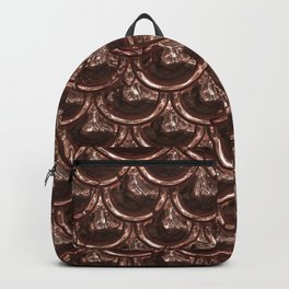 Precious Shimmering Copper Scales Backpack