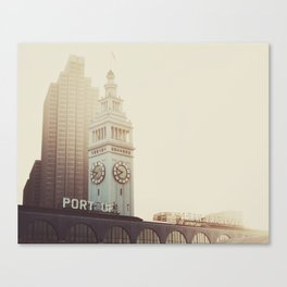 SF Beauty Canvas Print