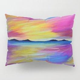 PURPLE SEASCAPE Pillow Sham