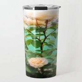 Floral Blossoms Travel Mug