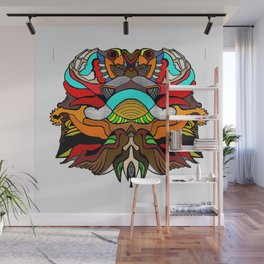 FunstracFaceing Wall Mural