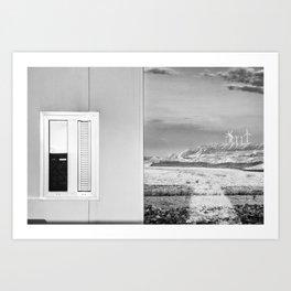Hotel Aire de Bardenas Art Print