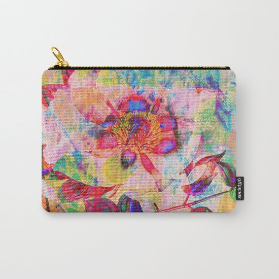 abstract anemone Carry-All Pouch