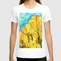 tulips T-shirts featuring Tulips  by sladja