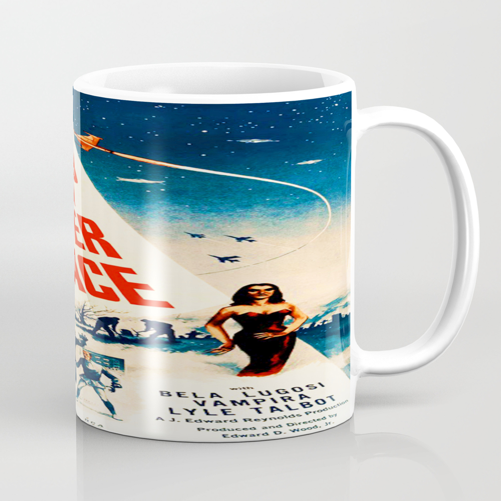Plan 9 From Outer Space, Vintage Movie Poster Mug by Alma_design MUG7728536