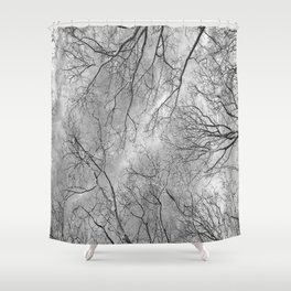 Trees are poems that earth writes upon the sky......K.Gibran Shower Curtain