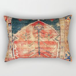 Konya Central Anatolian Niche Rug Print Rectangular Pillow