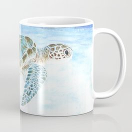 Sea turtle underwater Coffee Mug