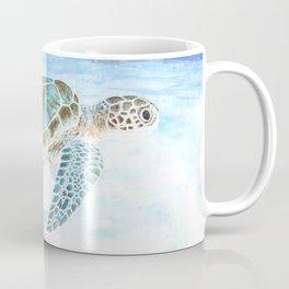 Sea turtle underwater Coffee Mug