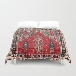 Erzurum  Antique East Anatolian Niche Kilim Duvet Cover