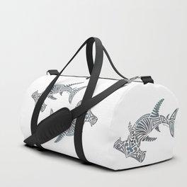 Tribal Hammerhead Shark Duffle Bag