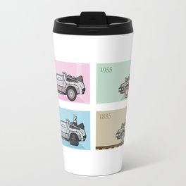 Back to the Future - Delorean x 4 Travel Mug