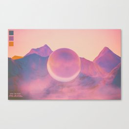 gazeous Canvas Print