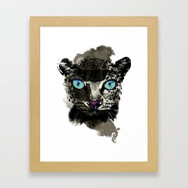 BLACK TIGER Framed Art Print