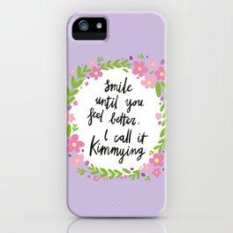 Kimmying iPhone Case