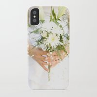 bride iPhone & iPod Cases featuring Bride by Tianna Chantal