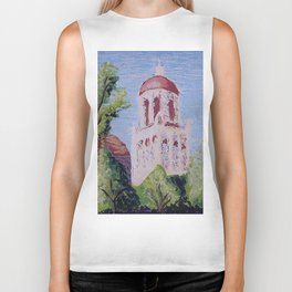 Stanford Clocktower Biker Tank