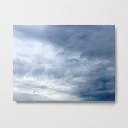 Incoming Clouds Metal Print