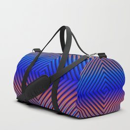 Hot Running in a Cool Breeze Duffle Bag