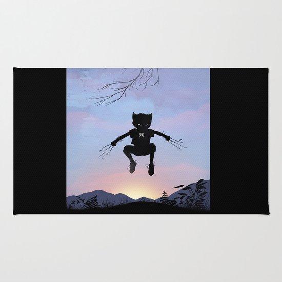 Wolverine Kid Rug