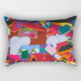 """KAWS, """"Silent City"""" 2011 Rectangular Pillow"""