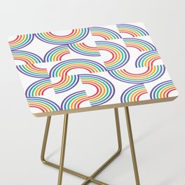 PRIDE_Clear Side Table