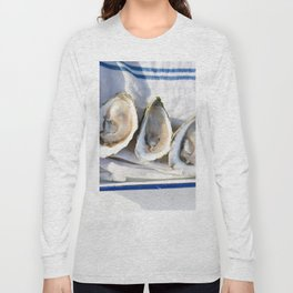 Oysters on Duxbury Bay Long Sleeve T-shirt