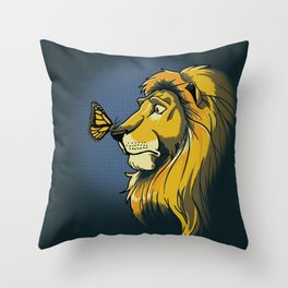 Two Kings Throw Pillow