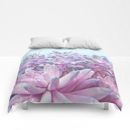 Sweet Succulents Comforters