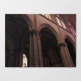 La Basílica del Sagrado Voto Nacional, Siete Canvas Print