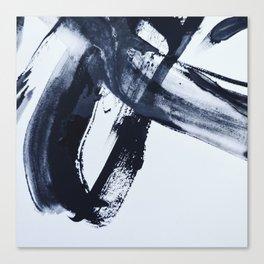 Ivory Black Canvas Print