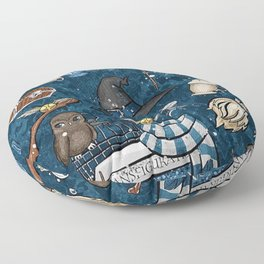 Hogwarts Things Floor Pillow