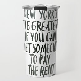 New York is the Greatest Travel Mug