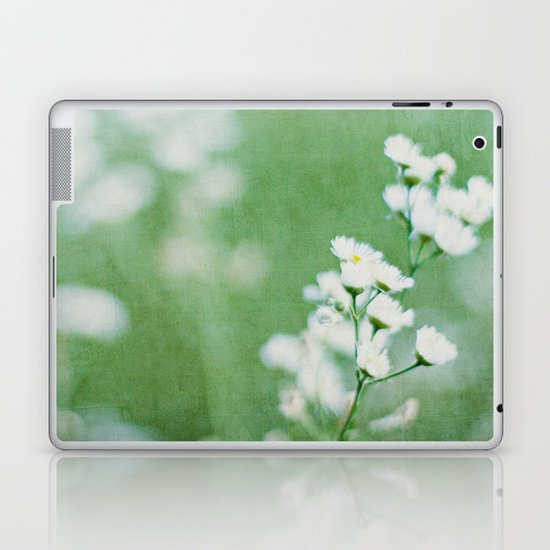 soft white Laptop & iPad Skin