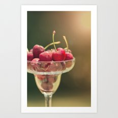 One of my favorite things about summer..... Art Print