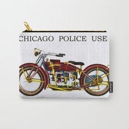 1922 Chicago Police Henderson De Lexe Motorcycle Portrait by Jeanpaul Ferro Carry-All Pouch
