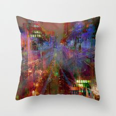 Somewhere in your unconscious Throw Pillow