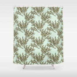 Seaweed Plant Shower Curtain