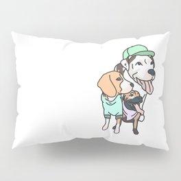 Dog Squad Goals Pillow Sham