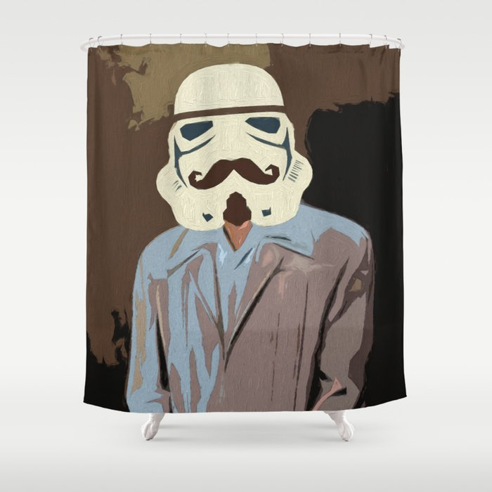 Proper Stormtrooper Shower Curtain By Ryanhill