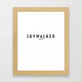 Fallwalker Framed Art Print