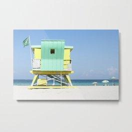 Miami Color Metal Print
