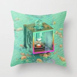 Crystal Power Throw Pillow