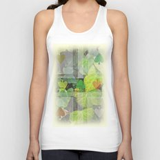 hyedra wall Unisex Tank Top