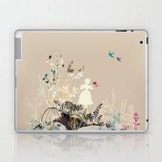 girl in the garden  Laptop & iPad Skin