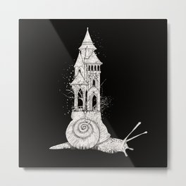 Ivory tower Metal Print