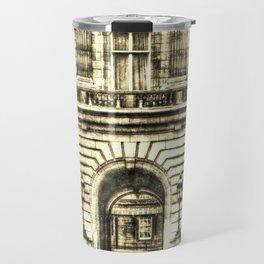 Buckingham Palace London Vintage Travel Mug