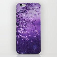 CATCH A FALLING STAR iPhone Skin