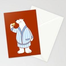 Burger Bear Stationery Cards