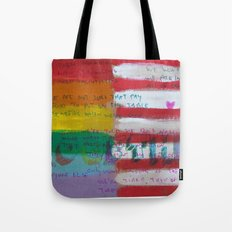 Flags For The Future 4: Power To The People Tote Bag